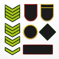 Military Patch Emblems Asset Normal map