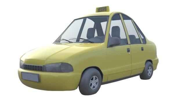 taxi car model