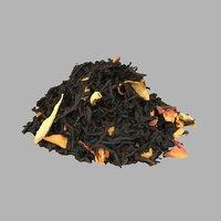 tea leaves flowers 3D model