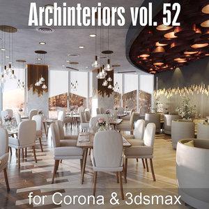 archinteriors vol 52 corona 3D model