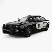 dodge charger pursuit 3D model