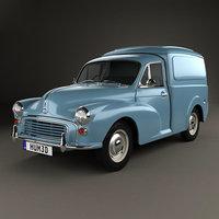 3D minor 1955 van model