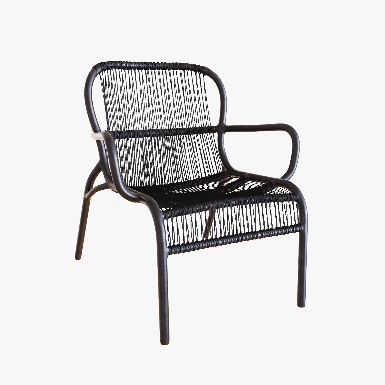 Peachy Vincent Sheppard Loop Lounge Chair Customarchery Wood Chair Design Ideas Customarcherynet