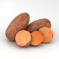 sweet potato 3D