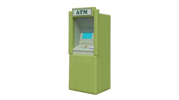 atm 3D model