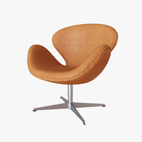 Swan Chair Fritz Hansen Nubuck Leather