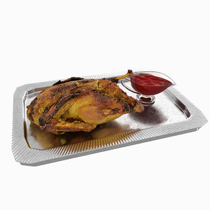 duck baked 3D