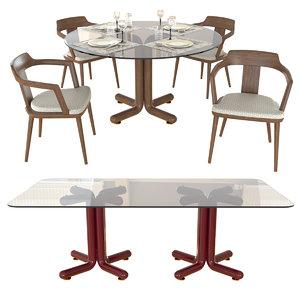 chair tables tilly porada 3D