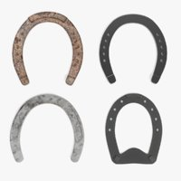 horseshoes pbr 3D model