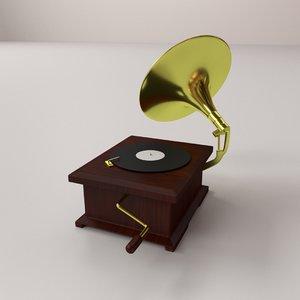 3D gramaphone v2