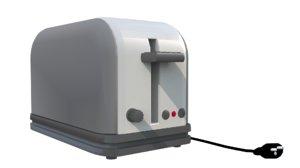 toaster 3D model