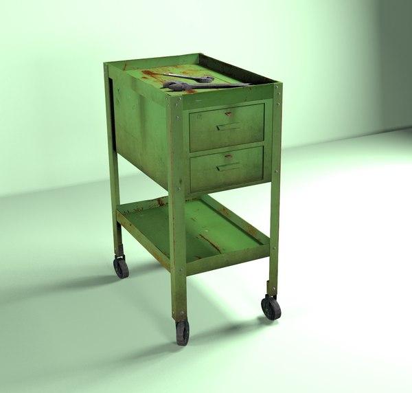 roller cabinet 3D model
