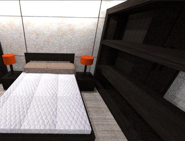 modern apartments 3D model