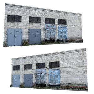 real scan electrical station 3D
