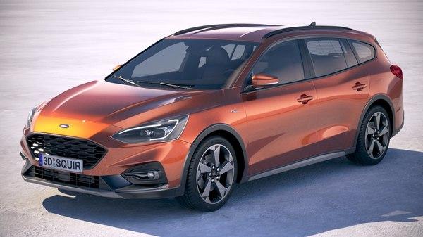 focus active wagon model