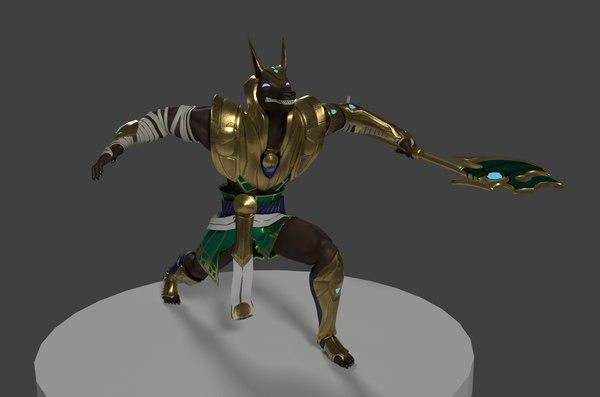 leage legends blender 3D model
