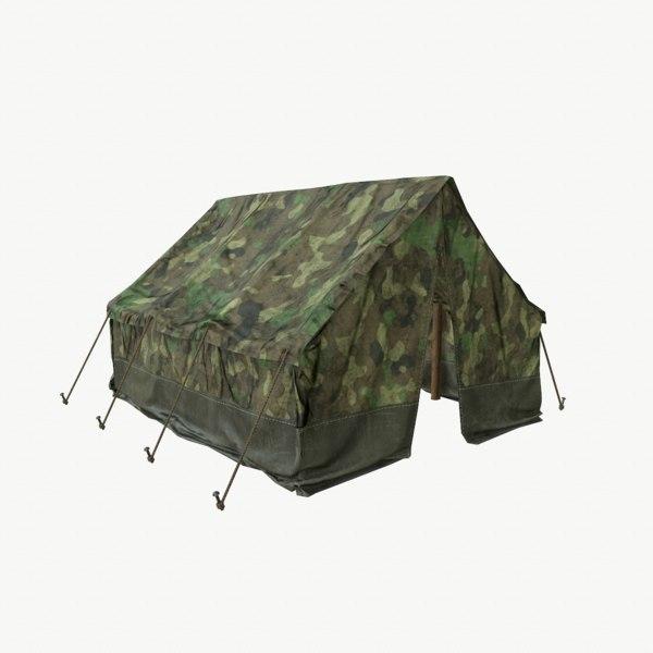 tent 2 pbr model