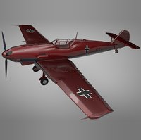 Messerschmitt BF 109 E_red L058