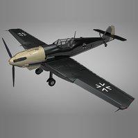 3D messerschmitt bf 109 e