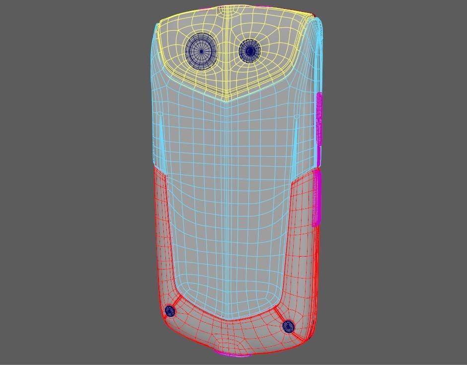 3D kyocera torque kc-s701 model
