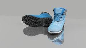 boots polys 3D model