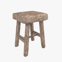 3D versmissen stool model