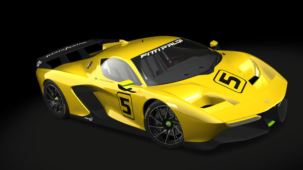 fittipaldi ef7 3D model