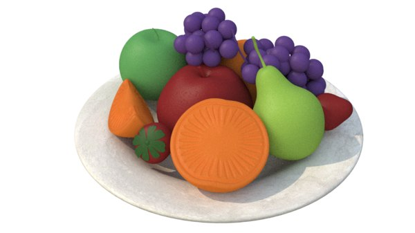 fruit soap 3D model