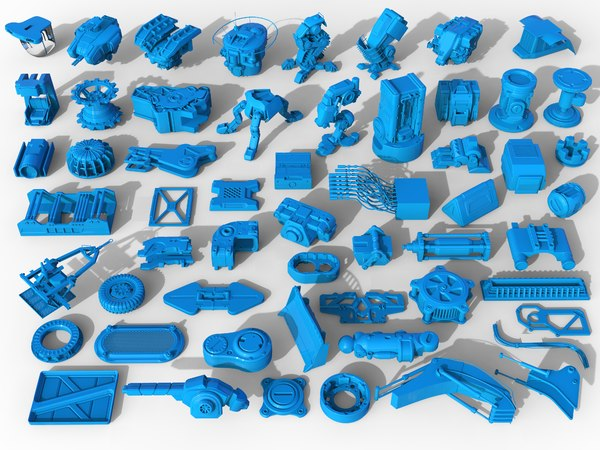 3D kit bashes - 56 model