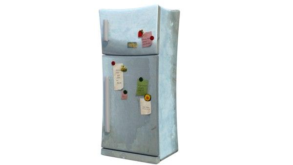 3D model refrigerator