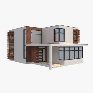 modern house 9 3D
