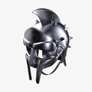 maximus helmet 3D model