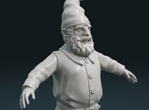 print ready gnome 3D model