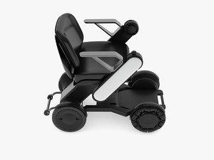 chair power wheel 3D model