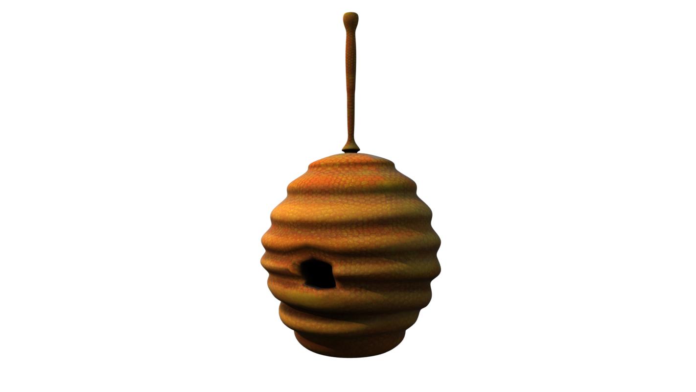 honey hive 3D model