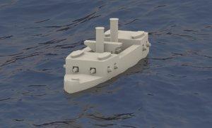 3D printing ironclad cabral warship