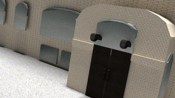 3D 239 building