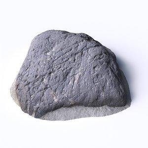 stone 4 3D model
