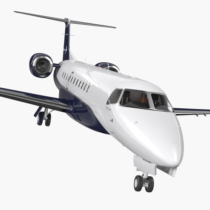 embraer legacy 650e private jet model