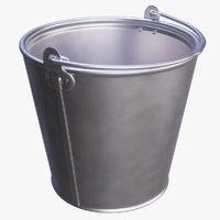 3D model bucket 12 liters