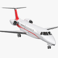 private jet 3D