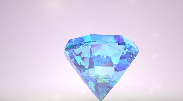 3D galaxy diamond model