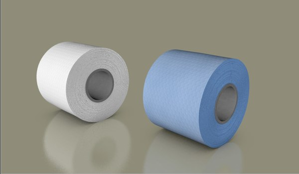 3D model tissues roll