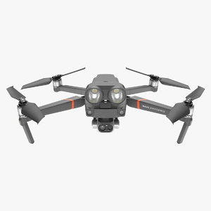 3D dji mavic 2 enterprise model
