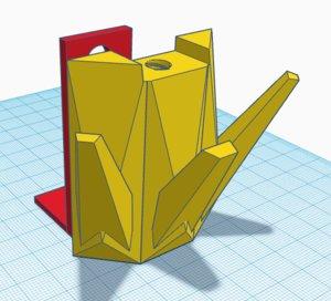 coat holder 3D model