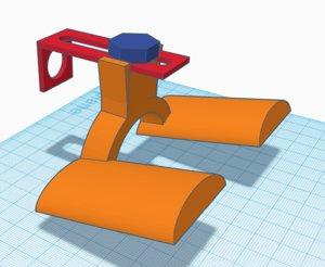 3D shoe holder