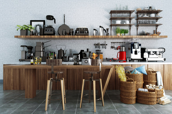 kitchen accessories 3D
