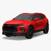 chevrolet blazer rs 3D model
