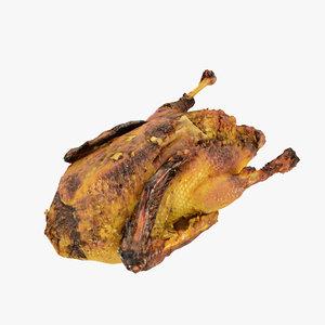 3D model duck roast