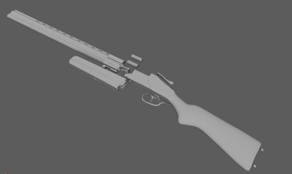 izh 27 3D model